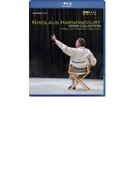『フィデリオ』全曲(2004)、『魔弾の射手』全曲(1999)、『ゲノヴェーヴァ』全曲(2007) アーノンクール&チューリッヒ歌劇場(ステレオ)