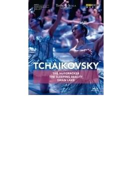 白鳥の湖(スカラ座バレエ2004)、くるみ割り人形(オランダ国立バレエ2011)、眠れる森の美女(キーロフ・バレエ1989)(3BD)
