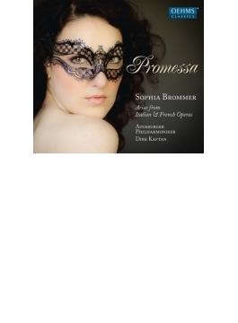『約束~イタリア、フランス・オペラ・アリア集』 ブロンマー、カフタン&アウグスブルク・フィル
