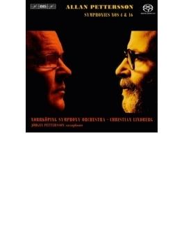 交響曲第4番、第16番 リンドベルイ&ノールショピング交響楽団(+DVD)
