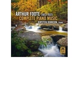 ピアノ作品全集 カーステン・ジョンソン(3CD)