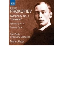 交響曲第1番『古典交響曲』、第2番、『夢』 オールソップ&サンパウロ響