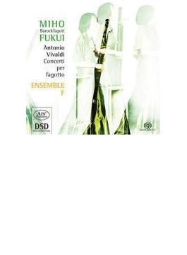 Bassoon Concertos: 福井美穂(Fg) Ensemble F (Hyb)