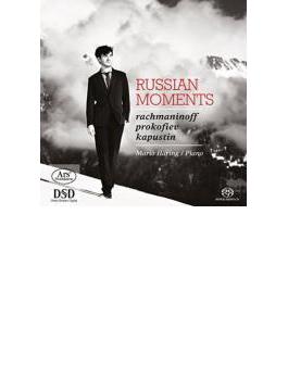Mario Haring: Russian Moments-rachamninov, Prokofiev, Kapustin (Hyb)