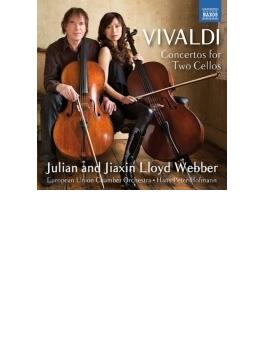 ヴィヴァルディ:2つのチェロのための協奏曲集、ピアソラ:ミロンガ ジュリアン&ジアシン・ロイド・ウェッバー、ヨーロッパ連合室内管