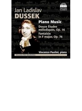 幻想曲、12の旋律的な練習曲 パオリーニ