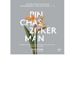 ブランデンブルク協奏曲全曲 ズッカーマン&ロサンジェルス・フィル(2SACD)