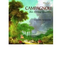 6つの弦楽四重奏曲 アンサンブル・シンポジウム