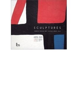 『スカルプチャー~サックスとピアノによる作品集』 アニマ・デュオ