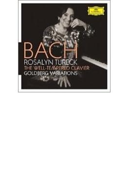 平均律クラヴィーア曲集全曲、ゴルトベルク変奏曲 テュレック(ピアノ)(6CD)