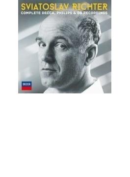 スヴィヤトスラフ・リヒテル/デッカ、フィリップス、DG録音全集(51CD)
