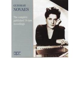 Guiomar Novaes: The Complete Published 78-rpm Recordings