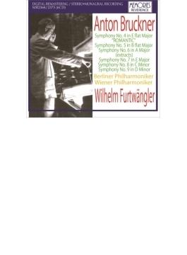 交響曲第4、5、7、8、9番、第6番より フルトヴェングラー&ウィーン・フィル、ベルリン・フィル(1943~51)(6CD)