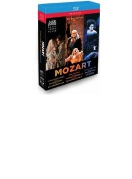 『フィガロの結婚』全曲(パッパーノ)、『魔笛』全曲(コリン・デイヴィス)、『ドン・ジョヴァンニ』全曲(マッケラス) コヴェント・ガーデン王立歌劇場(5BD)