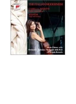 『イタリアン・モダニズム~カゼッラ:チェロ協奏曲、レスピーギ:アダージョと変奏、ピッツェッティ』 キエーザ、ロヴァリス&イタリア国立放送響