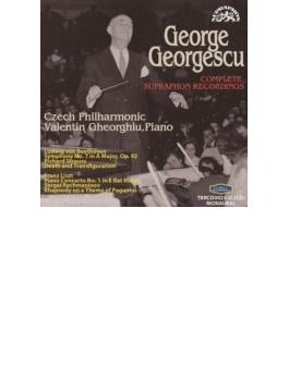 ジョルジェスク、スプラフォン全録音集~ベートーヴェン:交響曲第7番、R.シュトラウス:死と浄化、他 チェコ・フィル、V.ゲオルギュー(2CD)