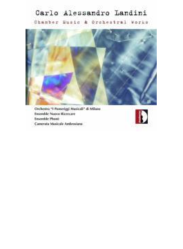 Chamber Music & Orch.works: Carthy / I Pomeriggi Musicali O Bertani / Ensemble Nuovo Ricercare Etc