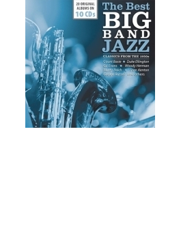 Best Big Band Jazz - Classics From The 1950s (10CD)