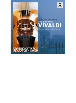 Viola D'amore Concertos: Biondi(Va D'amore) / Europa Galante