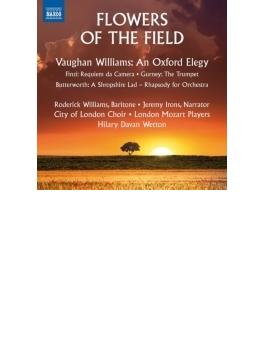 フィンジ:レクィエム・ダ・カメラ、ヴォーン・ウィリアムズ:オックスフォードの悲歌、他 ウェットン&シティ・オブ・ロンドン・コーラス、他