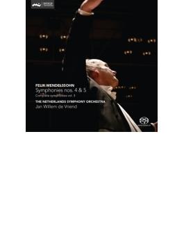 交響曲第4番『イタリア』、第5番『宗教改革』 フリエンド&ネザーランド交響楽団