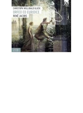 『オルフェオとエウリディーチェ』全曲 ヤーコプス&フライブルク・バロック管、フィンク、カンジェミ、キール(2001 ステレオ)(2CD)