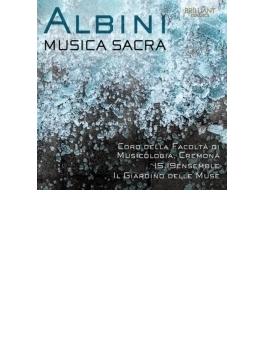 『ムジカ・サクラ~アルビニ近作集』 プスティヤナク&クレモナ・コーロ・デッラ・ファコルタ・ディ・ムジコロギア、他