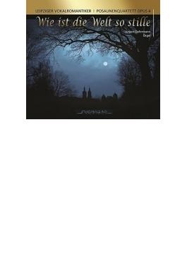 『世界が沈黙するように』 ライプツィヒ・ヴォーカルロマンティカー、トロンボーン四重奏団「OPUS4」