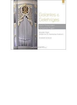 バッハ:6つのトリオ・ソナタ、シュヴェンケ:オルガン作品集 ライナー・ゲーデ(2CD)