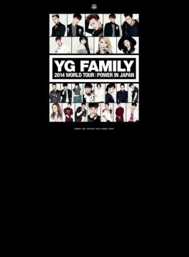 YG FAMILY WORLD TOUR 2014 -POWER- in Japan (3DVD)