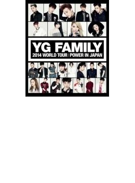 YG FAMILY WORLD TOUR 2014 -POWER- in Japan (2Blu-ray)