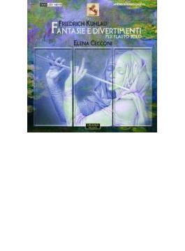 Fantasy, Divertimenti For Flute Solo: Cecconi