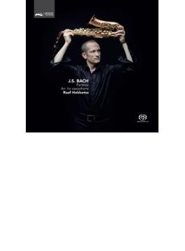 サックス独奏による無伴奏ヴァイオリンのためのパルティータ全曲 ラーフ・ヘッケマ