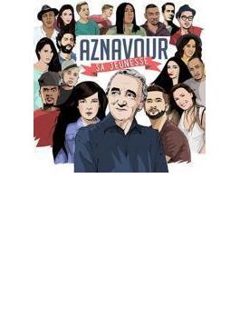Aznavour, Sa Jeuness