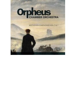 交響曲第5番『運命』、第7番 オルフェウス室内管弦楽団