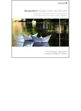 Donaufahrt-voyage Down The Danube-music For Bassoon: 小山莉絵(Fg) C.muller(P)