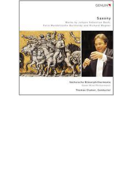 Saxony-j.s.bach, Mendelssohnwagner, : Sachsische Blaserphilharmonie
