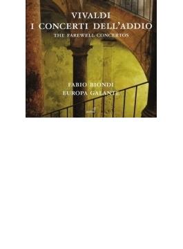 『最後の協奏曲~後期ヴァイオリン協奏曲集』 ビオンディ、エウローパ・ガランテ