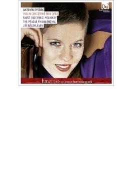 ヴァイオリン協奏曲、ピアノ三重奏曲第3番 ファウスト、ビエロフラーヴェク&プラハ・フィル、ケラス、メルニコフ(レーベル・カタログ付)