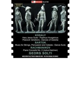 Solti / Lso: Kodaly, Bartok: Orch.works, Rachmaninov: Piano Concerto, 2, : Katchen(P)