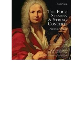 ヴァイオリン協奏曲集『四季』 モルテンセン&ヨーロッパ・ユニオン・バロック管弦楽団