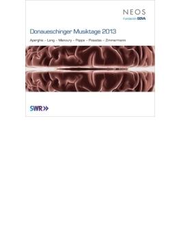 『ドナウエッシンゲン音楽祭2013~新作オーケストラ作品ライヴ』(4SACD)
