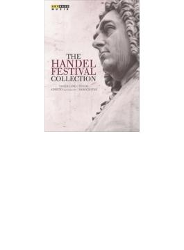歌劇『アドメート』全曲、『テゼオ』全曲、『タメルラーノ』全曲、ドキュメンタリー『バロックスター~ヘンデル』(6DVD+2CD)