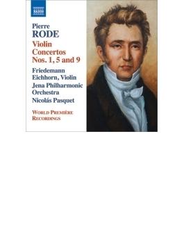 ヴァイオリン協奏曲第1番、第5番、第9番 フリードマン・アイヒホルン、パスケ&イェーナ・フィル