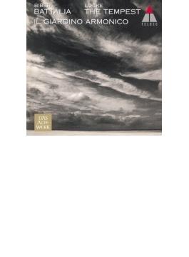 『戦いと嵐~ビーバー、ロック作品集』 イル・ジャルディーノ・アルモニコ