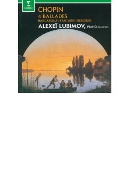 バラード第1番、第2番、第3番、第4番、舟歌、幻想曲、子守歌 リュビモフ(フォルテピアノ)