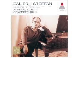 サリエリ:ピアノ協奏曲集、シュテファン:ピアノ協奏曲 シュタイアー(フォルテピアノ)、コンチェルト・ケルン
