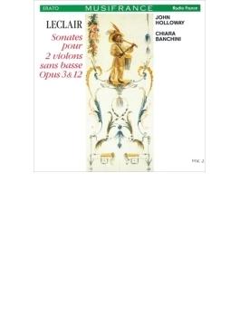 2つのヴァイオリンのためのソナタ集 バンキーニ、ホロウェイ(2CD)
