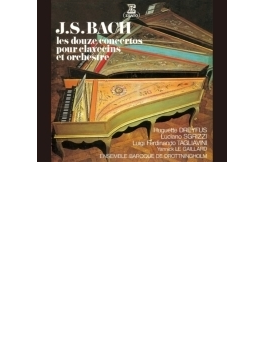 チェンバロ協奏曲全集 ドレフュス、ドロットニングホルム・バロック・アンサンブル(3CD)