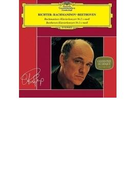 ラフマニノフ:ピアノ協奏曲第2番、ベートーヴェン:ピアノ協奏曲第3番 リヒテル、ヴィスロツキ&ワルシャワ・フィル、ザンデルリング&ウィーン響